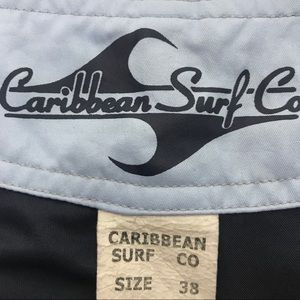 Carribean Surf Shorts - Caribbean Surf mens blue board shorts St Thomas 38